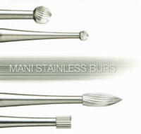 Surgical burs for root surface treatment